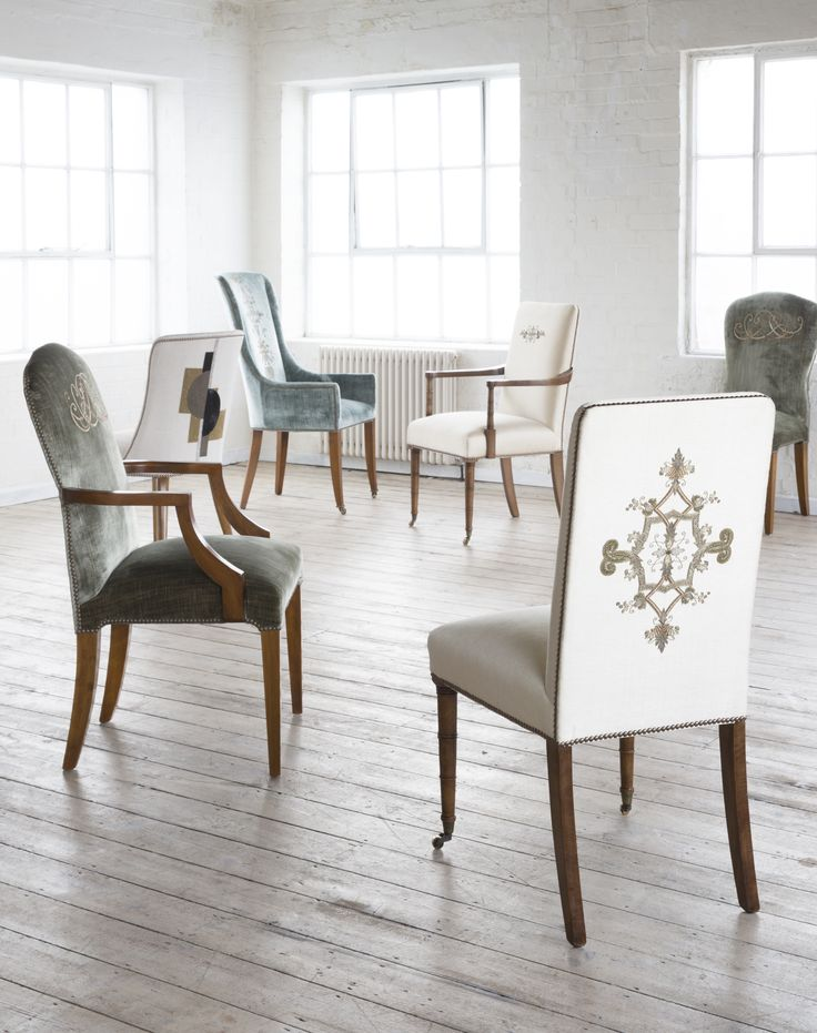 Dining chair collection by Beaumont & Fletcher
