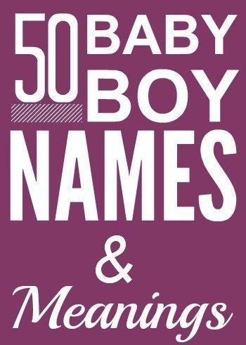 50 Nice & Beautiful Baby Boy Names With Meanings: Don't worry, we've sorted it out here and posted below a collection of unique and beautiful names for boys (with their meanings) that will be individual and special while not being too unusual – easing the daunting task a bit; just what you needed, right?
