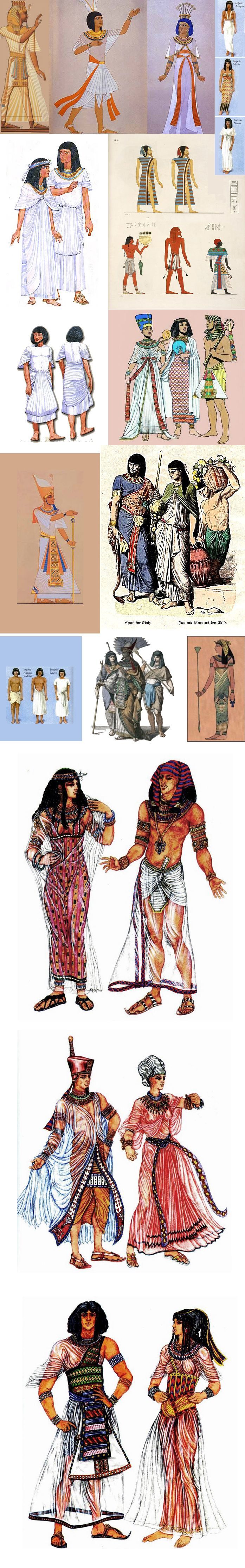 Egyptian social class clothing picture. (n.d.). Retrieved from https://s-media-cache-ak0.pinimg.com/originals/76/59/56/7659563d99ae844f84980298fd1bfbe8.jpg. This picture provides a visual for the clothing worn by different social classes in Egypt.  Students would first gain a knowledge of the social classes through reading passages and then could use the picture to write a description of the clothing worn in each class.