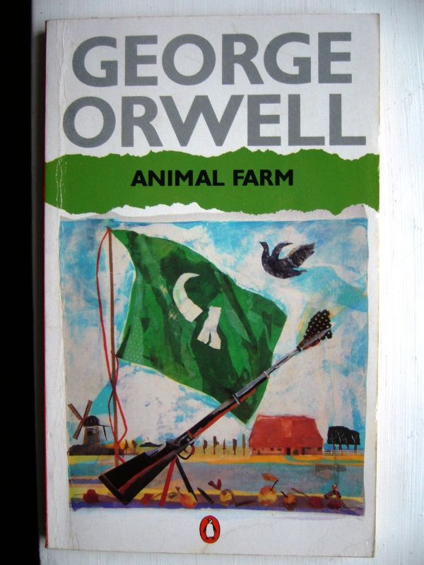 Why did George Orwell write the book