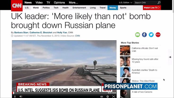 Breaking : Russian Airliner Blown Up By American Backed 'Moderate' Rebel...