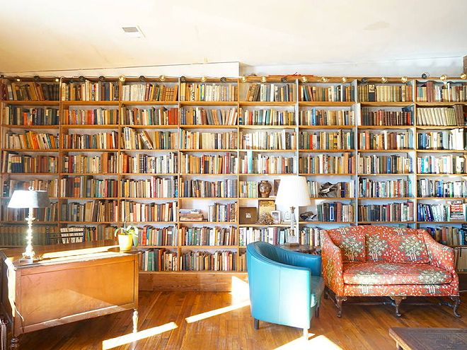 These cozy abodes will make you want to relax and read a tome (or two), stat