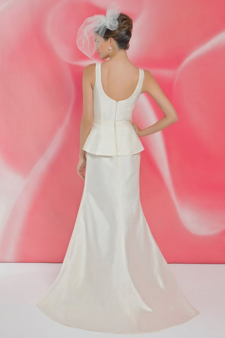 Style *I101 » Wedding Dresses » Ivory Collection » Pearl Bridals » Available Colours : Ivory/Silver, White/Silver » Shown waistband with Silver Buckle (back)