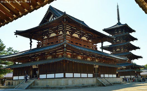Horyu-ji, Nara: The oldest wooden buildings in the world