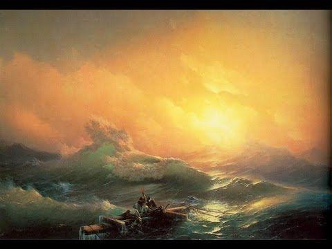 "А.Южаков_14""Море ночь""Живопись маслом, Мастер-класс - YouTube"