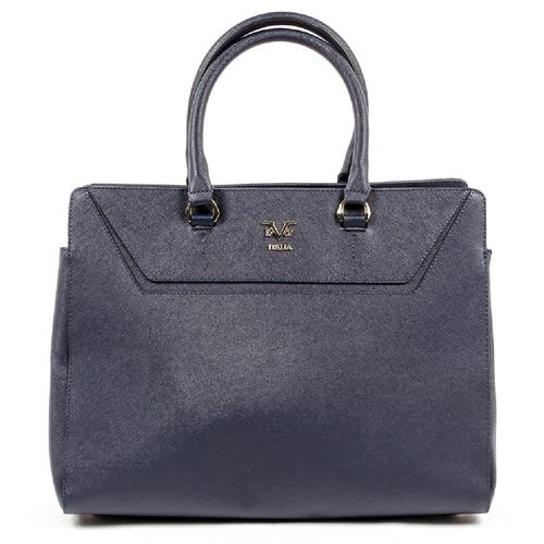 V 1969 Italia Womens Handbag V1969002 NAVY BLUE
