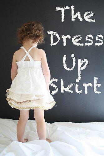The Dress Up Skirt Tutorial by ohsohappytogether, via Flickr