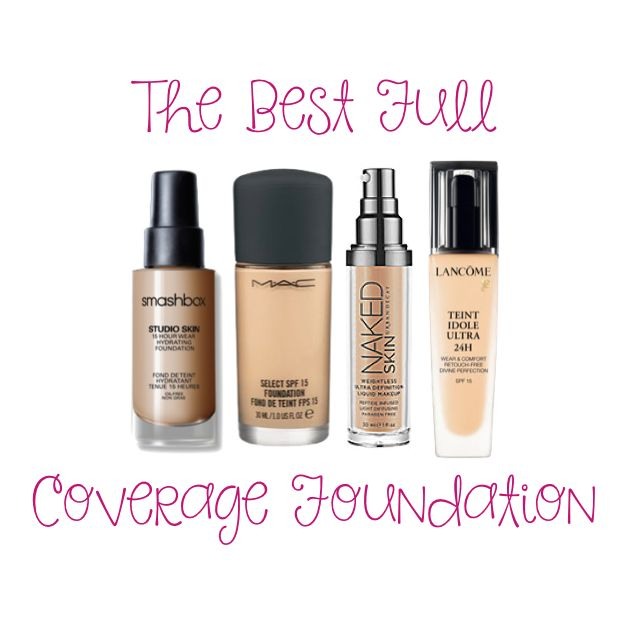 What I Think is The Best Full Coverage Foundation  http://www.notanothercovergirl.com/best-full-coverage-foundation/