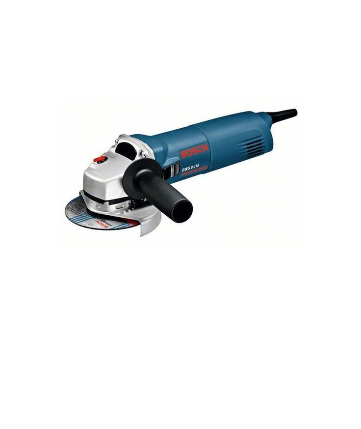 Amoladora Angular Bosch GWS 8-115  Característica de Amoladora Angular Bosch GWS 8-115 -Motor de larga vida útil y mayor potencia, 850W -Mayor seguridad gracias a su nueva caperuza -11,000 RPM