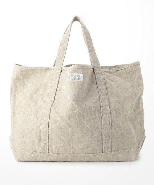 【ORCIVAL(オーシバル)】リネントートバッグ(トートバッグ)|ORCIVAL(オーシバル)のファッション通販 - ZOZOTOWN