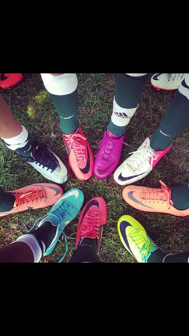 #nike #soccer #cleats my team did this but ours was better