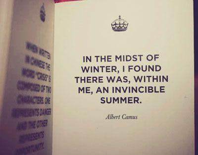 i crave the sun...: Tattoo Ideas, Remember This, Invinc Summer, Albert Camus Quotes, Summer Girls, Favorite Quotes, Inspiration Quotes, Summer Quotes, Albertcamus
