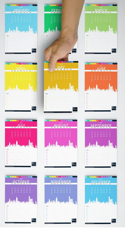 Real Estate Calendar Design : Smart calendar postcard for brooklyn ny real estate agent