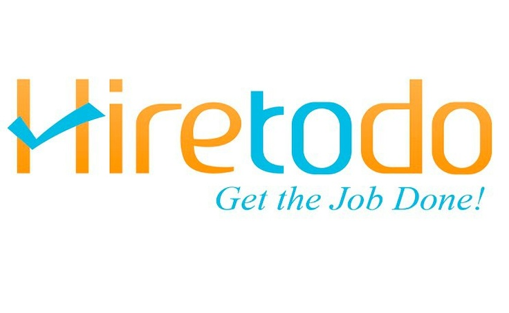 Logo made by www.iServiceslb.com for a freelancing site called hiretodo