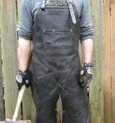 Blacksmith & Bladesmith Handcrafted Leather ApronsElf Leatherworks