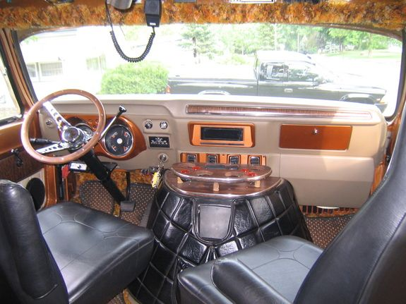 The Interior Of A 70s Dodge Van I Dont Know What Outside Will Look Like Just Yet