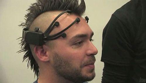 EPOC, Emotiv, Brain-controlled devices, BCI, brain–computer interface, futuristic device, wireless headset, brain power, mind control, cyberpunk