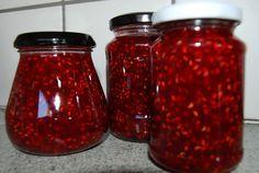 Fru Kubiks lækkerier: Hindbær marmelade