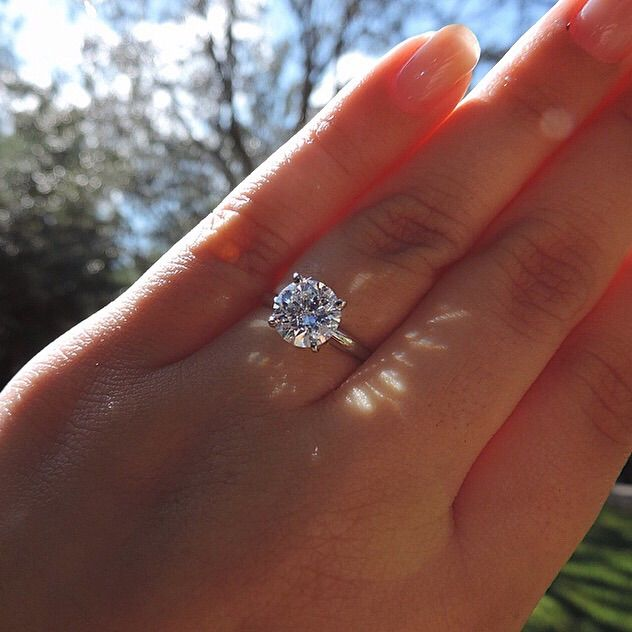 Show off your 2+ carat engagement rings! - Weddingbee  bc31596a0