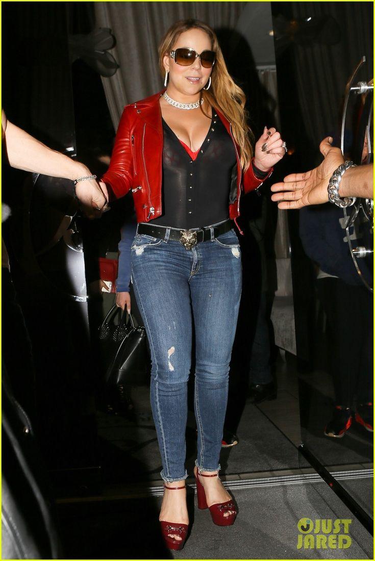 Mariah Carey & Boyfriend Bryan Tanaka Hold Hands While on Dinner Date | mariah carey holds hands with boyfriend 02 - Photo