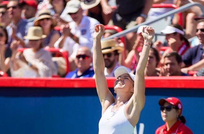 Un nou succes pentru campioana noastră, Simona Halep! S-a calificat în sferturile de finală la turneul WTA de la Wuhan!