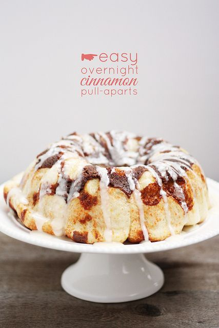 Easy Overnight Cinnamon Pull-Aparts from Lulu the Baker | Just like cinnamon rolls, but without the early wake-up call!