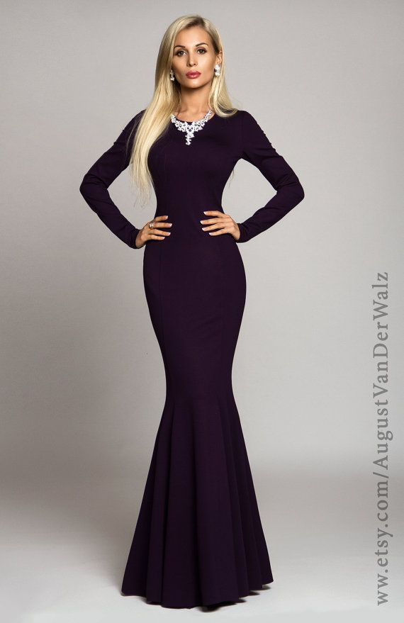 17 Best ideas about Long Purple Dress on Pinterest | Beautiful ...