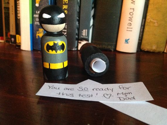 Batman Lunch Box Note Pal by TinyClementine on Etsy, $15.00