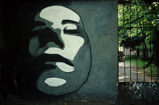 Urban Portrait. Graffiti. taken by Maurycy Gomulicki