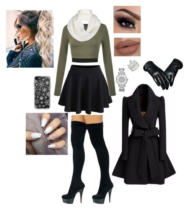 """""""Formal Winter Outfit"""" by naomi-rachell on Polyvore featuring WithChic, Casetify, UGG and Michael Kors"""