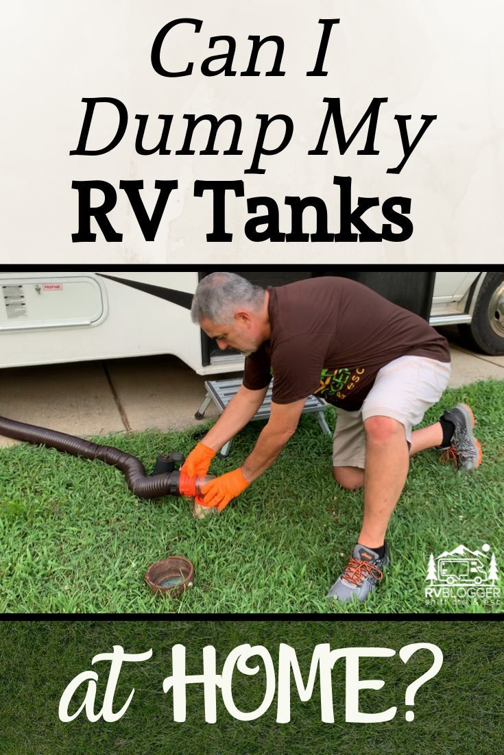 This Awesome Youtube Video Shows How To Empty Your Rv Black Tank At Home In Addition To How To Dump Your Rv At Home It Covers Rv Bla Water Tank Rv