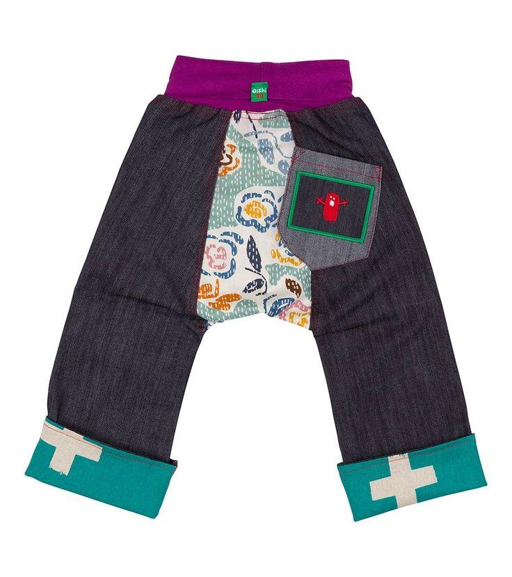 Floating Lotus Chubba Jean, Oishi-m Clothing for kids, Winter 2016, www.oishi-m.com