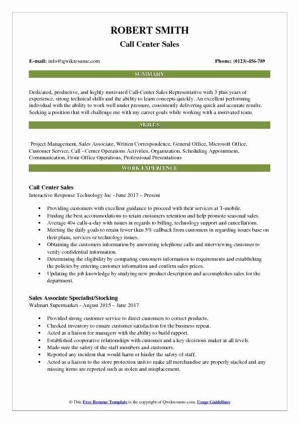 23 Call Center Jobs Description Resume In 2020 Marketing Resume