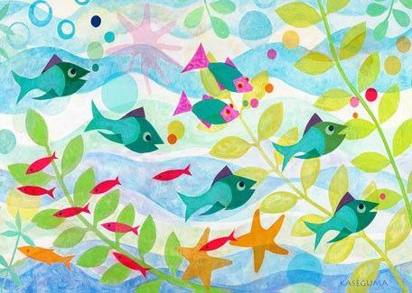 2.  Friendly Fish     #Oopsydaisy  #ArtForKids