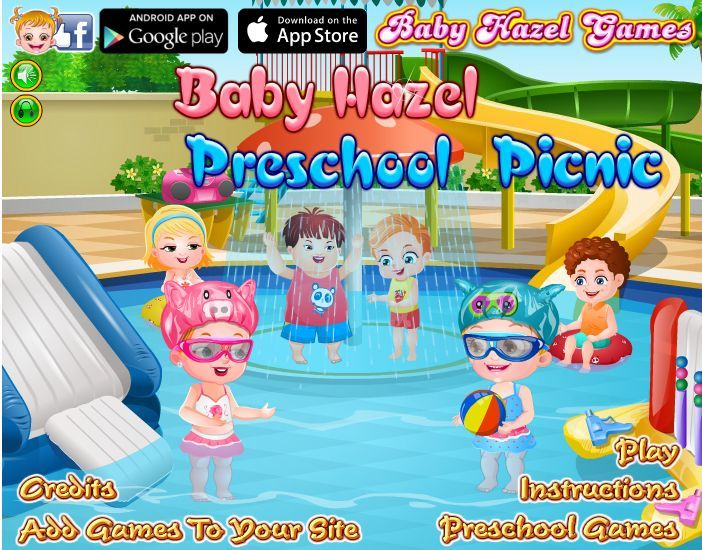 Baby Hazel joins her friends for a school picnic tour. Go along with darling Hazel to enjoy fun games in school-bus drive and water slides at water park. http://www.babyhazelgames.com/games/baby-hazel-preschool-picnic.html