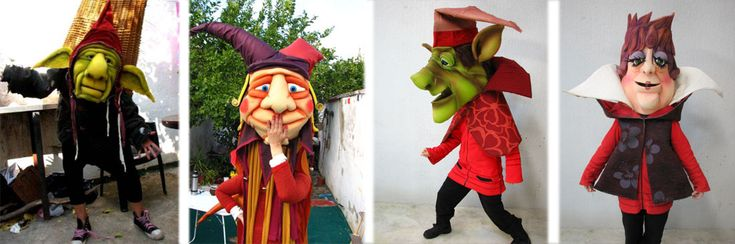 Tienda de Marionetas y Títeres de Goma Espuma A Medida - La Tiendita