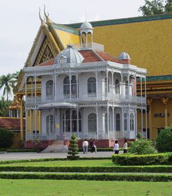 Napoleon III Pavilion, Royal Palace, Phnom Penh, Cambodia