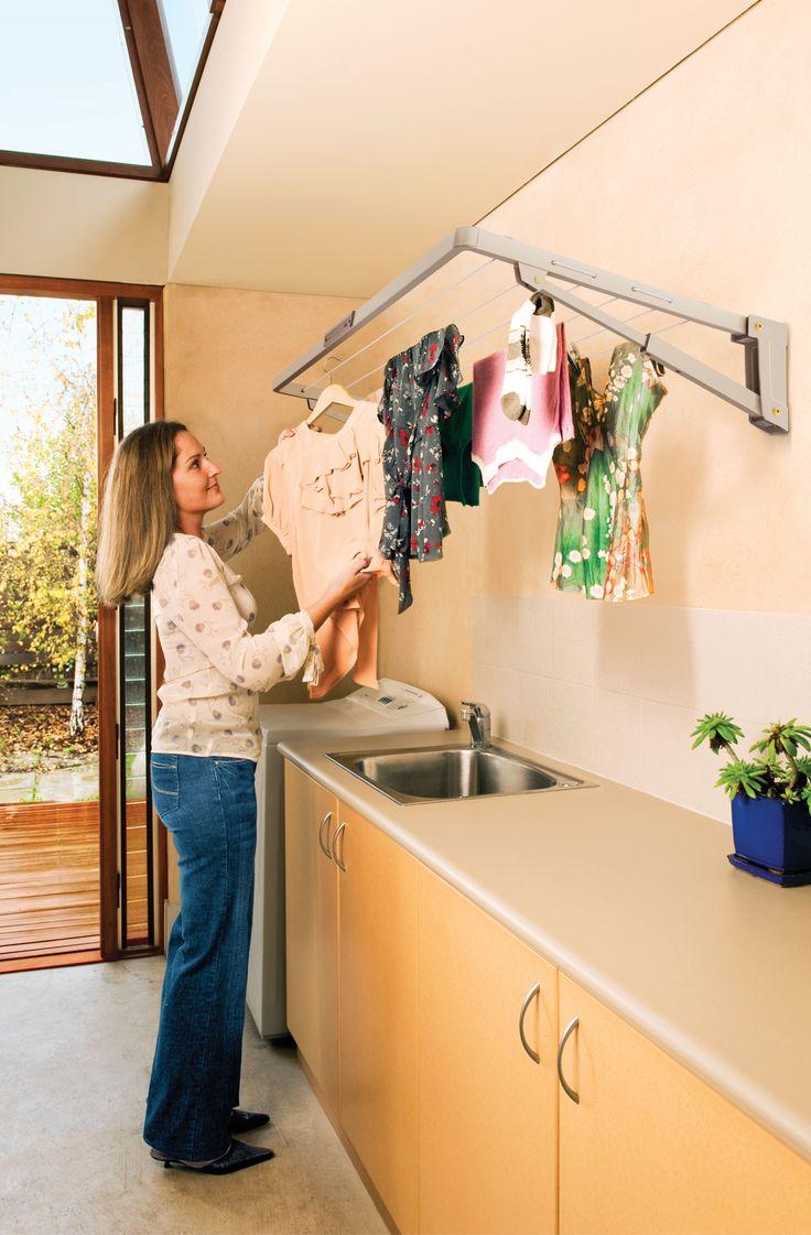 Supa Fold Mini Line: Hills Clothesline Products: Retractable Clotheslines,  Rotary Clotheslines, Clothes