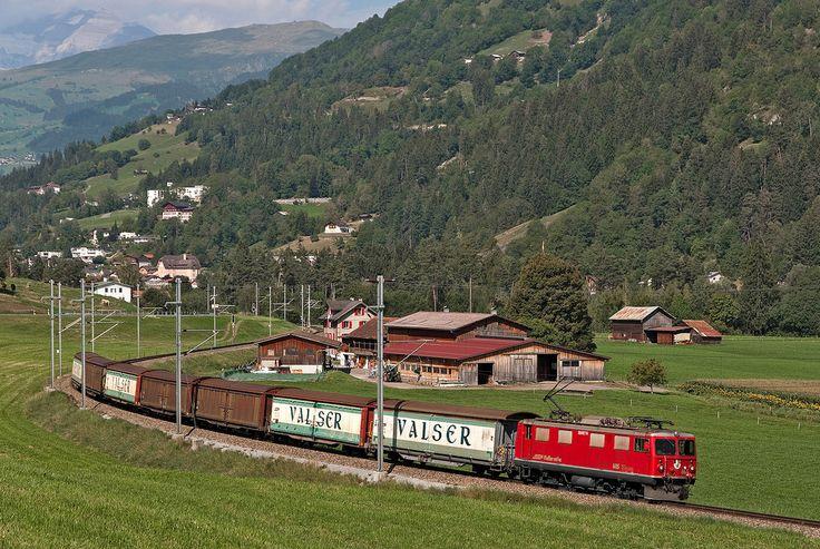 Maurizio Messa | RhB Ge4/4' 605 | RhB Ge4/4' 605 'Silvretta' - Ilanz - 25.08.2011