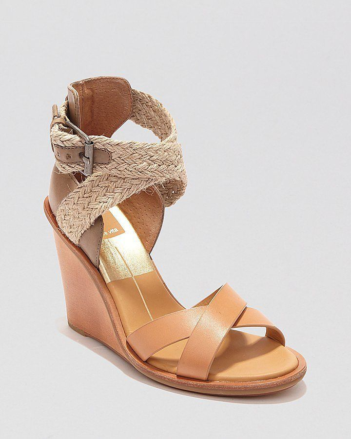 Come Spring and Summer, we make the seasonal shift to sandals. Great wedges are easy to walk in and pair just as well with party dresses as they do with casual shorts and denim.   Dolce Vita Open Toe Wedge Sandals   ($169)