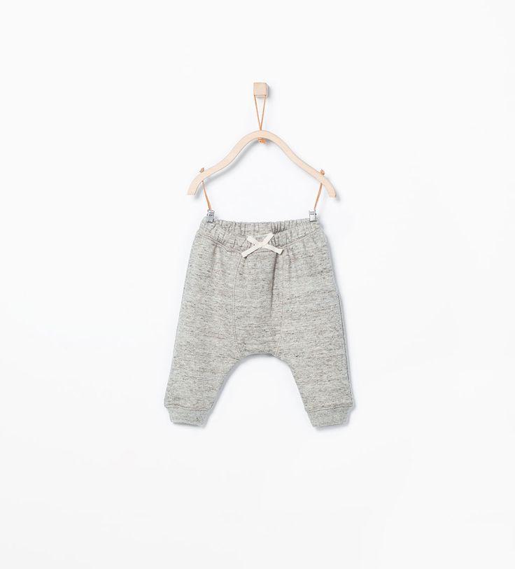 Flecked tie trousers-Trousers-MINI | ZARA United States