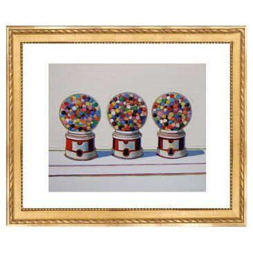 Check out this item at One Kings Lane! Wayne Thiebaud, Three Machines, 1963