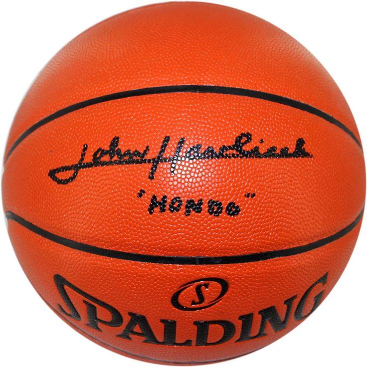 John Havlicek I/O Basketball w/ 'Hondo' Insc.