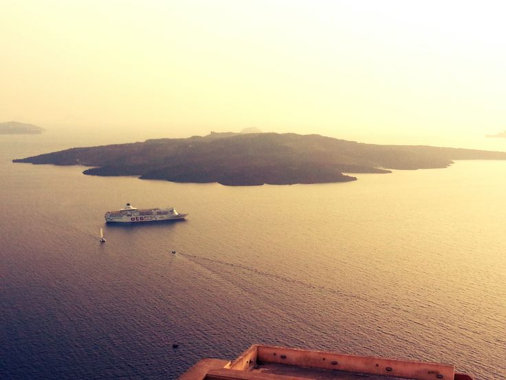 Santorini Sunset, Valcano Island, Greece
