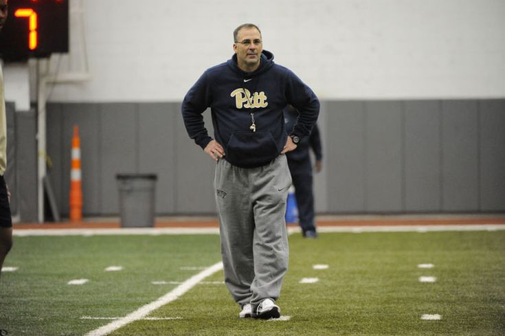 Belief and (Tough) Love Drive Pitt's New Football Coach - Pittsburgh Magazine - August 2015 - Pittsburgh, PA #Pittsburgh #Pitt #Football #Sports