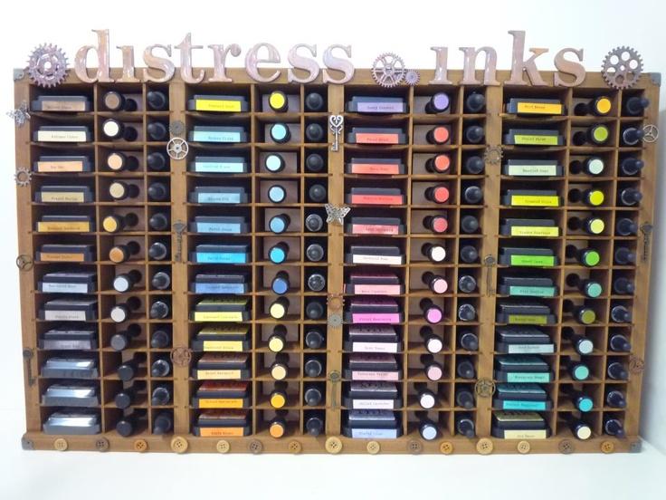 Distress Ink storage