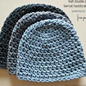 Half Double Crochet Hat Pattern | AllFreeCrochet.com