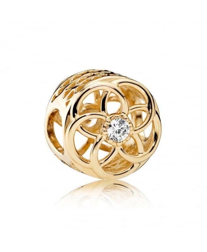 Cheap Pandora Loving Bloom Charm 750598CZ UK Sale