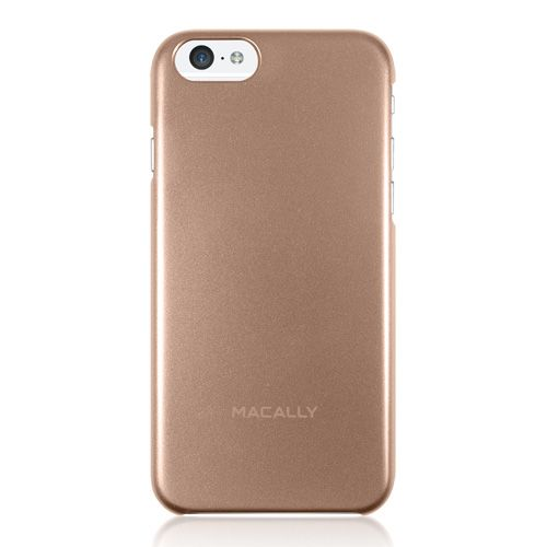 """Macally Protective Metallic Snap On Case (SNAPP6M-CH) Gold (iPhone 6 - 4.7"""") - myThiki.gr - Θήκες Κινητών-Αξεσουάρ για Smartphones και Tablets - Macally AlumSnap Champagne Gold"""