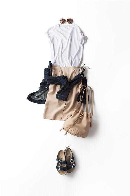 Kyoko Kikuchi's Closet | ヌーディーな色を着たくて、、、 そんなことから生まれたコーデ。